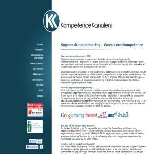 KompetenceKanalen - Søgemaskineoptimering