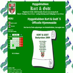 Hyggeklubben Kort & Godt