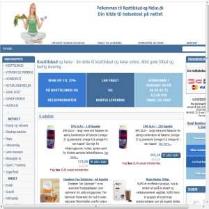 Kosttilskud og Helse produkter