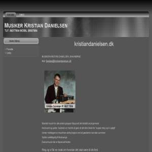 Musiker Kristian Danielsen