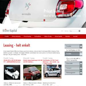 Krone Kapital, leasing, billeasing