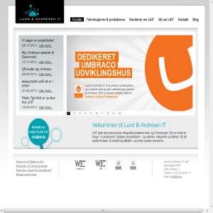 Umbraco udvikling hos Lund & Andresen IT