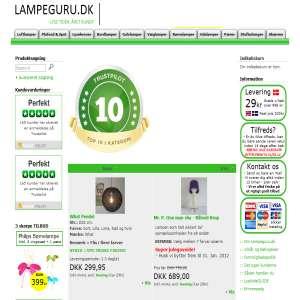 Lampeguru.dk - Lamper, pærer og ledninger