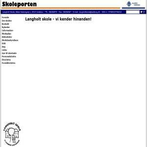 Langholt Skole