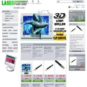Laser-Pointer.dk - Danmarks bedste laser pointere