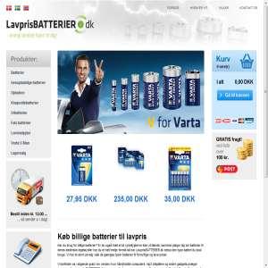 Lavprisbatterier.dk