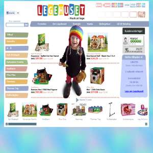 Legehuset - legetøj online