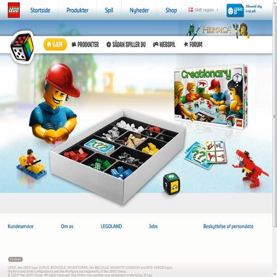 LEGO Games - Brætspil til børn