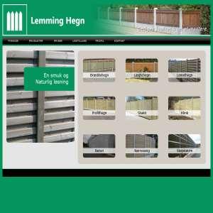 Stakit Silkeborg - Lemming Hegn