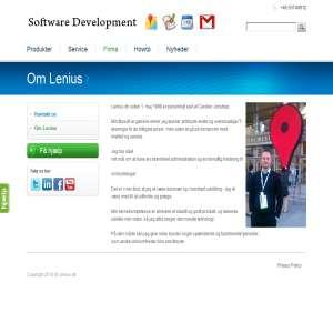 Lenius - Google Apps Forhandler