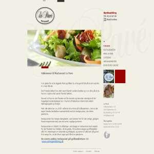 Le Pave - Fransk Restaurant