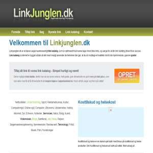 Linkjunglen.dk - Link katalog