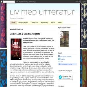 Liv med litteratur - en bogblog