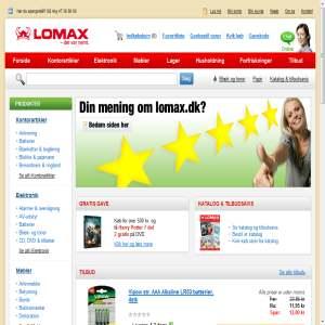 Lomax - Alt til kontor og lager