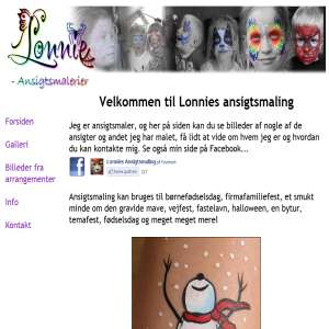 Lonnies Ansigtsmaling
