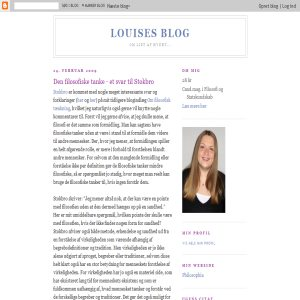 Louises blog