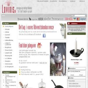 Brugskunst hos Lovinis.dk