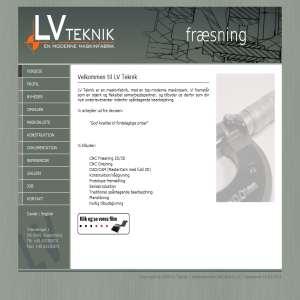 LV Teknik - CNC Drejning & CNC Fræsning