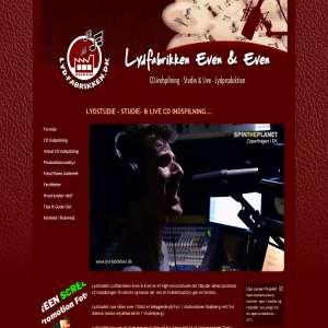 Lydfabrikken Even & Even | Det Fynske Lydstudie