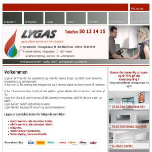 Lygas - Gasservice til Gasfyr