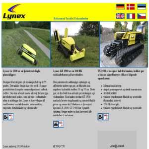 Lynex - Plæneklipper