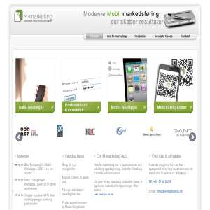 M-marketing - SMS, MMS, Mobil Stregkoder