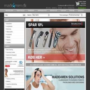 Made4men ApS Parfumer | Voks | Hudpleje til mænd