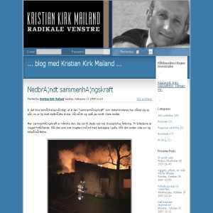 Kristian Kirk Mailand | Radikale Venstre