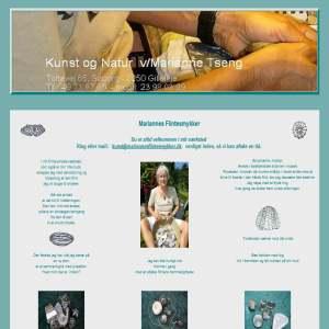 Mariannes Flintesmykker | Kunst og Natur