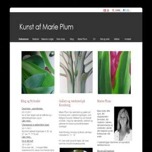 Kunstner Marie Plum
