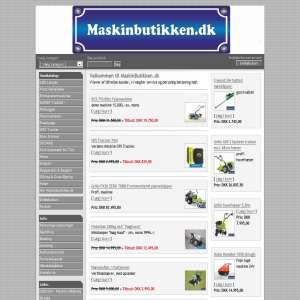 Maskinbutikken - Køb havemaskiner, entreprenørmaskiner