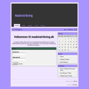 Maskinstrikning.dk