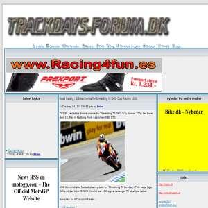 Trackdays forum