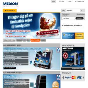 MEDION Danmark shop