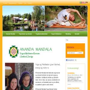 Ananda Mandala · Yoga & Meditation · Kursus og Retreat Center