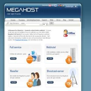 Megahost.dk - webhosting, teamspeak hosting eller dedikeret hosting
