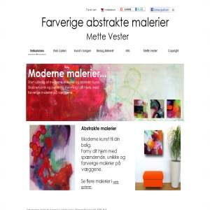 Kunstmaler Mette Vester