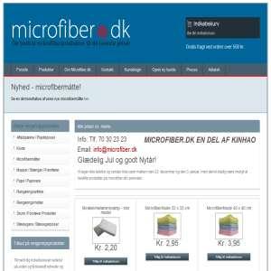 Microfiber-klude til rengøring