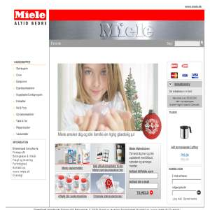 Miele Shop - tilbehør & plejeprodukter