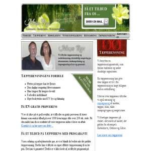 Miljø Ren - Tæpperens, møbelrens, rengøring og vinduespolering