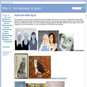 Mille A - Portrætmaleri og galleri
