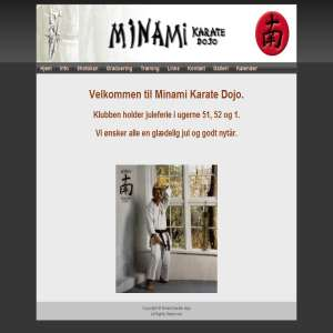 Minami karate dojo