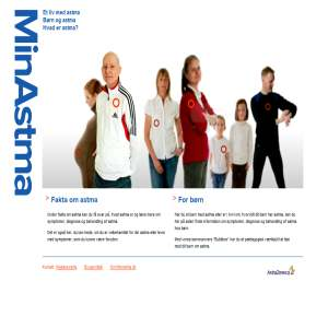 Alt om Astma -  astmabehandling, astmamedicin, allergi - minastma.dk