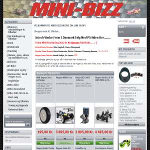 Mini-bizz online-shop
