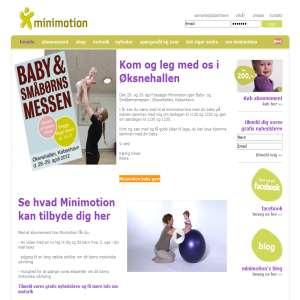 minimotion - styrk dit barns motorik