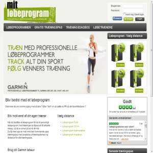 Mit Løbeprogram