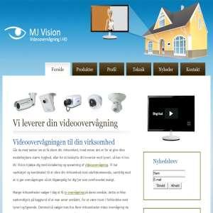 MJ Vision - overvågning til erhverv virksomheder