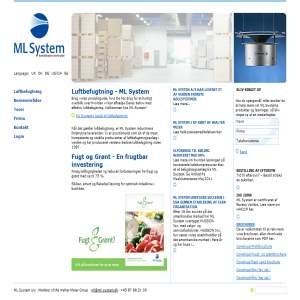 ML System Luftbefugtning