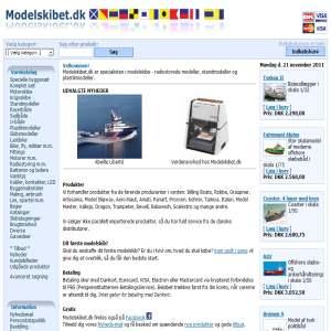Modelskibet.dk