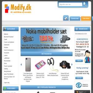 Modify.dk - Mobiltilbehør